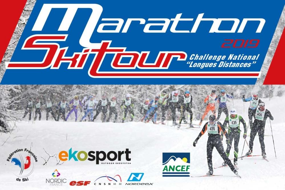 Le nouveau circuit du Marathon Ski Tour 2018-2019
