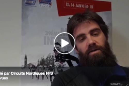 Marathon de Bessans : Interview de Fabien Lebourg